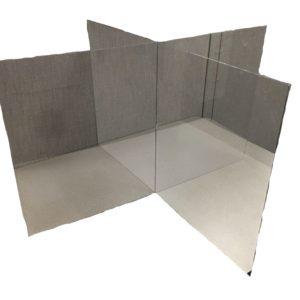 Desk Shield 4 way fold (single)
