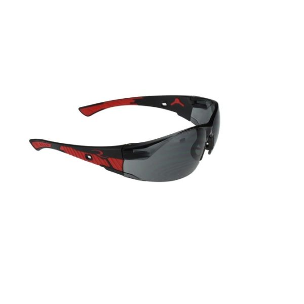 Radians Obliterator Smoke Safety Glasses with Rubber Temples and Nosepiece OBL1-20