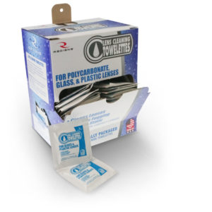 Radians Lens Cleaning Towellettes with Dispenser Box 100/Box LCD100