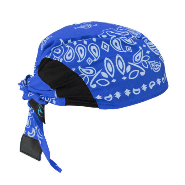 Radians Blue Paisley Arctic Radwear Cooling Head Shade RCS308