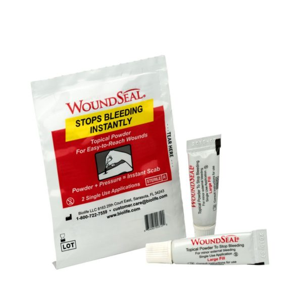 WoundSeal Blood Clot Powder Pour Packs 2/Pack 90326AC