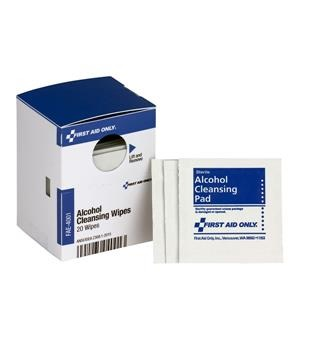 Alcohol Cleansing Pads 20/Box FAE4001AC